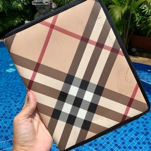 Burberry Exploded Check iPad Tablet Cover Folio